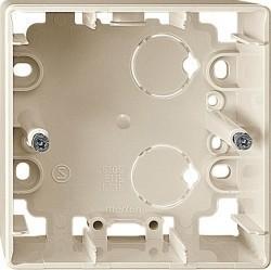 Коробка одинарная для накладного монтажа Премиум-класса Artec Schneider Electric (Германия). Артикул: MTN513544