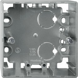 Коробка одинарная для накладного монтажа Премиум-класса Artec Schneider Electric (Германия). Артикул: MTN513546