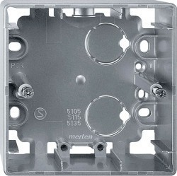 Коробка одинарная для накладного монтажа Премиум-класса Artec Schneider Electric (Германия). Артикул: MTN513560
