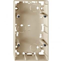 Коробка двойная для накладного монтажа Премиум-класса Artec Schneider Electric (Германия). Артикул: MTN513644