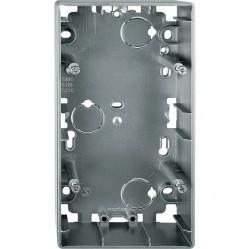Коробка двойная для накладного монтажа Премиум-класса Artec Schneider Electric (Германия). Артикул: MTN513646