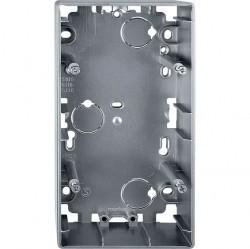 Коробка двойная для накладного монтажа Премиум-класса Artec Schneider Electric (Германия). Артикул: MTN513660