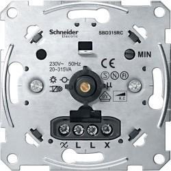 Механизм поворотного светорегулятора-переключателя Schneider Electric Коллекции Merten, 315 Вт, MTN5136-0000