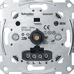 Механизм поворотного светорегулятора Schneider Electric Коллекции Merten, 630 Вт, MTN5137-0000