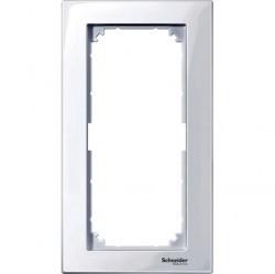 Рамка 2 поста Schneider Electric MERTEN M-PLAN, активно-белый, MTN515825
