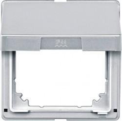 Крышка для розетки Schneider Electric MERTEN AQUADESIGN IP44, с заземлением, с крышкой, белый, MTN516519