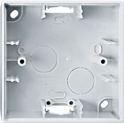 Коробка одинарная для накладного монтажа Премиум-класса System M Schneider Electric (Германия). Артикул: MTN524119