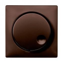 Накладка на светорегулятор Schneider Electric MERTEN SYSTEM DESIGN, коричневый, MTN5250-4015