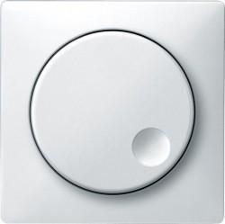 Накладка на светорегулятор Schneider Electric MERTEN SYSTEM DESIGN, полярно-белый, MTN5250-4019