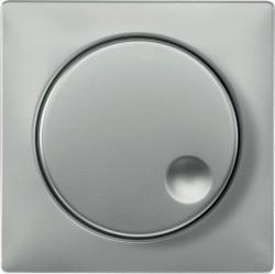 Накладка на светорегулятор Schneider Electric MERTEN SYSTEM DESIGN, стальной, MTN5250-4146
