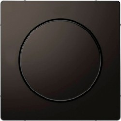 Накладка на светорегулятор Schneider Electric MERTEN D-LIFE, антрацит, MTN5250-6034