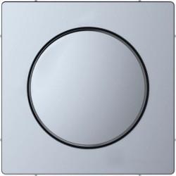 Накладка на светорегулятор Schneider Electric MERTEN D-LIFE, нержавеющая сталь, MTN5250-6036
