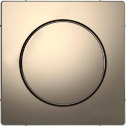 Накладка на светорегулятор Schneider Electric MERTEN D-LIFE, никель, MTN5250-6050