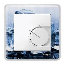 Накладка на термостат Schneider Electric MERTEN SYSTEM M, полярно-белый, MTN534719