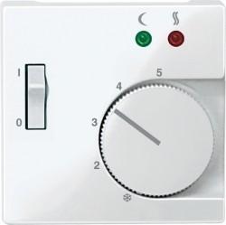 Накладка на термостат Schneider Electric MERTEN SYSTEM M, полярно-белый, MTN534919