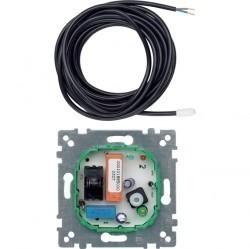 Механизм термостата для теплого пола Schneider Electric коллекции Merten, с датчиком, MTN537100