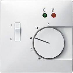 Накладка на термостат Schneider Electric MERTEN SYSTEM DESIGN, полярно-белый, MTN537519