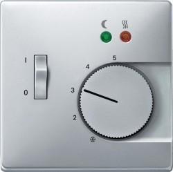 Накладка на термостат Schneider Electric MERTEN SYSTEM DESIGN, алюминий, MTN537560