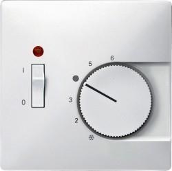 Накладка на термостат Schneider Electric MERTEN SYSTEM DESIGN, полярно-белый, MTN539719