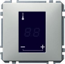 Механизм термостата для теплого пола Schneider Electric коллекции Merten, с дисплеем, MTN5775-0000