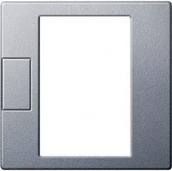 Накладка на термостат Schneider Electric MERTEN SYSTEM M, алюминий, MTN5775-0460