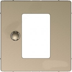 Накладка на светорегулятор Schneider Electric MERTEN D-LIFE, песочный, MTN5775-6033