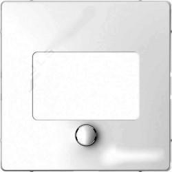 Накладка на светорегулятор Schneider Electric MERTEN D-LIFE, белый лотос, MTN5775-6035