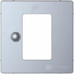 Накладка на светорегулятор Schneider Electric MERTEN D-LIFE, нержавеющая сталь, MTN5775-6036