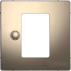 Накладка на светорегулятор Schneider Electric MERTEN D-LIFE, никель, MTN5775-6050