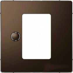 Накладка на светорегулятор Schneider Electric MERTEN D-LIFE, мокко, MTN5775-6052