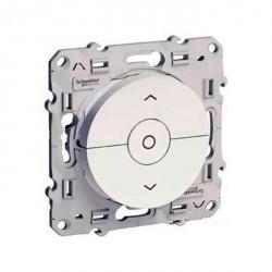 Выключатель для жалюзи кнопочный Schneider Electric ODACE, глянцевый, S52R208