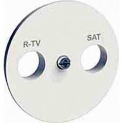 Накладка на розетку телевизионную Schneider Electric ODACE, глянцевый, S52R441