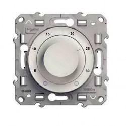 Термостат для теплого пола Schneider Electric ODACE, с датчиком, глянцевый, S52R507