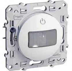 Датчик движения Schneider Electric ODACE, до 350 Вт, глянцевый, S52R524