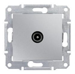 Розетка TV Schneider Electric SEDNA, оконечная, алюминий, SDN3201660