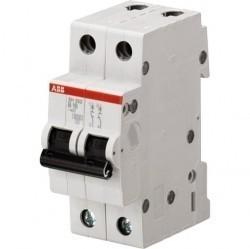Автоматический выключатель ABB SH200L 2P 6А (C) 4,5кА, 2CDS242001R0064