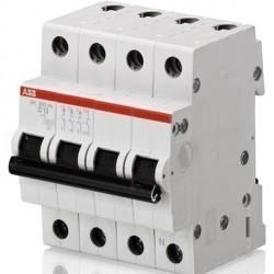 Автоматический выключатель ABB SH200 3P+N 1,6А (C) 6кА, 2CDS213103R0974