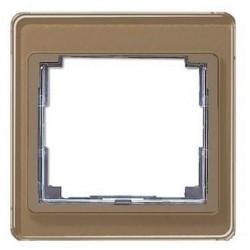 Рамка 1 пост Jung SL 500, бронзовый, SL581GB