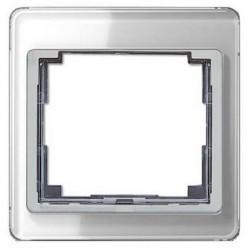 Рамка 1 пост Jung SL 500, серебристый, SL581SI