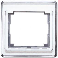 Рамка 1 пост Jung SL 500, белый, SL581WW