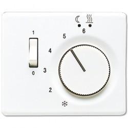 Накладка на термостат Jung SL 500, белый, SLFTR231PLWW