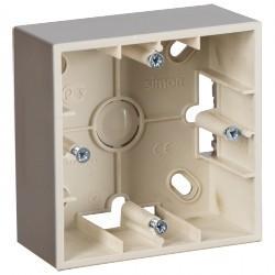 Simon15 Коробка для наружного монтажа 1-ная, шампань