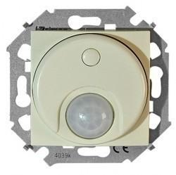 Светорегулятор с датчиком движения Simon SIMON 15, до 500 Вт, слоновая кость, 1591721-031