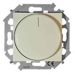 Светорегулятор поворотный Simon SIMON 15, 215 Вт, слоновая кость, 1591796-031