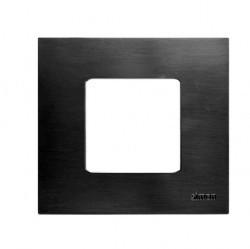 Рамка 1 пост Simon SIMON 27 PLAY, нержавеющая сталь, 2700617-042