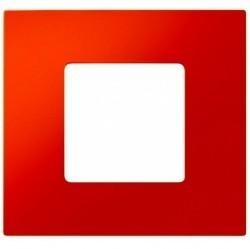 Рамка 1 пост Simon SIMON 27 PLAY, оранжевый, 2700617-072