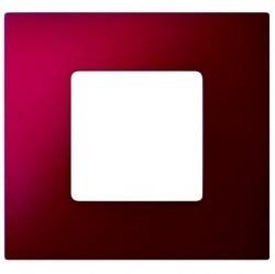 Рамка 1 пост Simon SIMON 27 PLAY, красный артик, 2700617-080