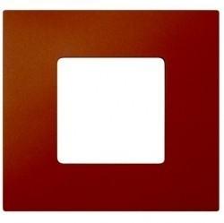 Рамка 1 пост Simon SIMON 27 PLAY, оранжевый артик, 2700617-082
