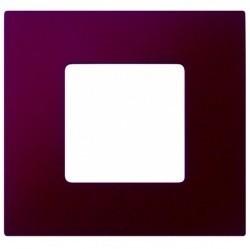 Рамка 1 пост Simon SIMON 27 PLAY, баклажановый артик, 2700617-085