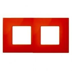Рамка 2 поста Simon SIMON 27 PLAY, оранжевый, 2700627-072